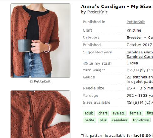 Anna's Cardigan