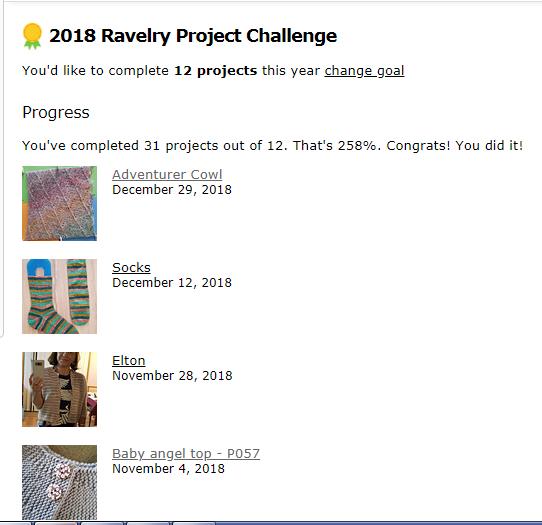Ravelry Challenge