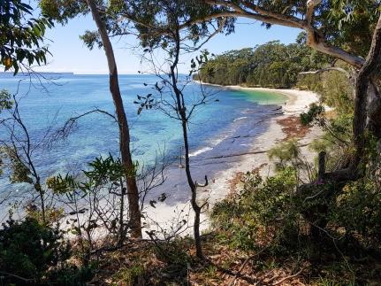 Shark Beach, Huskisson.