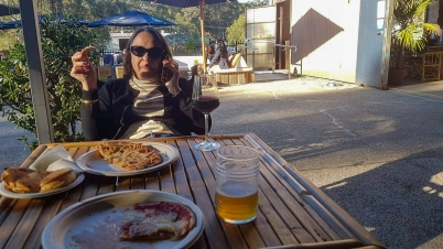 Jervis Bay Brewery and pizza.